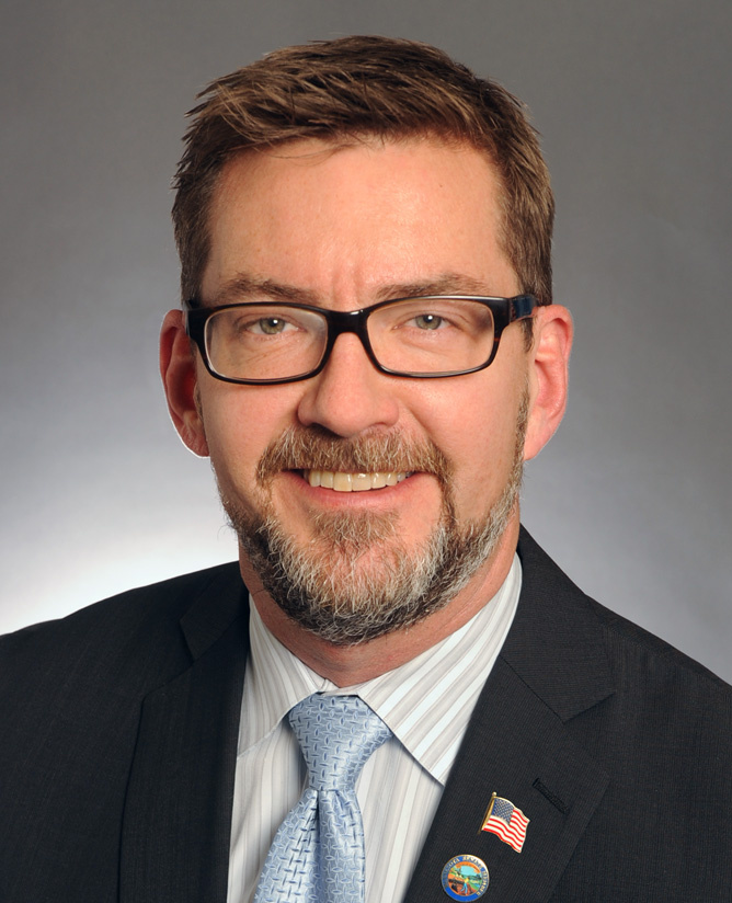 Senator D. Scott Dibble (DFL) District 61