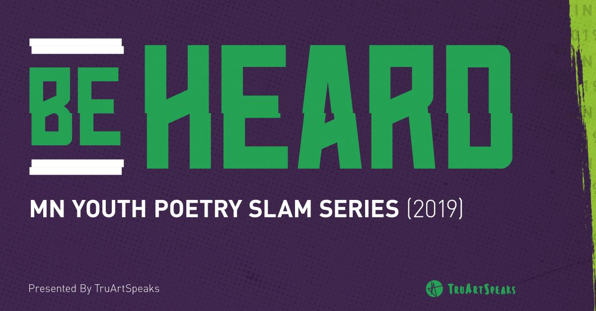 Be Heard: slam poetry semi-final logo