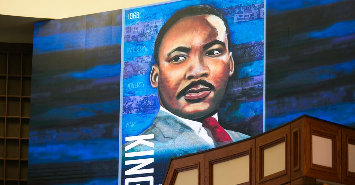 Painting of Rev. Dr. Martin Luther King, Jr