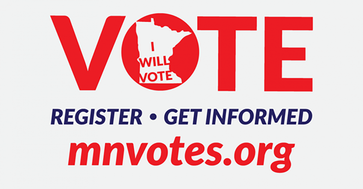 #MNVotes: Register to vote   Metropolitan State University