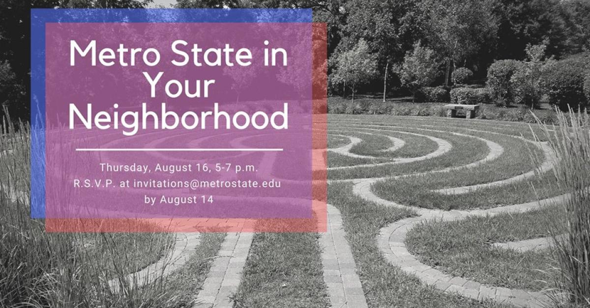 Metro State in Your Neighborhood event image