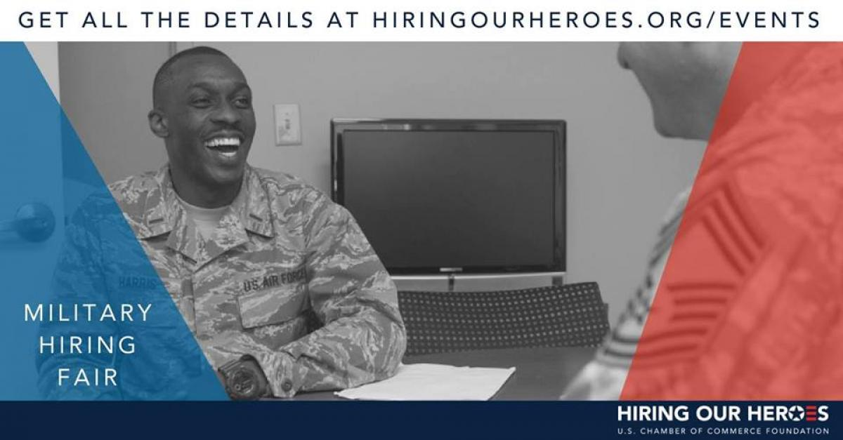 Military Hiring Fair flyer