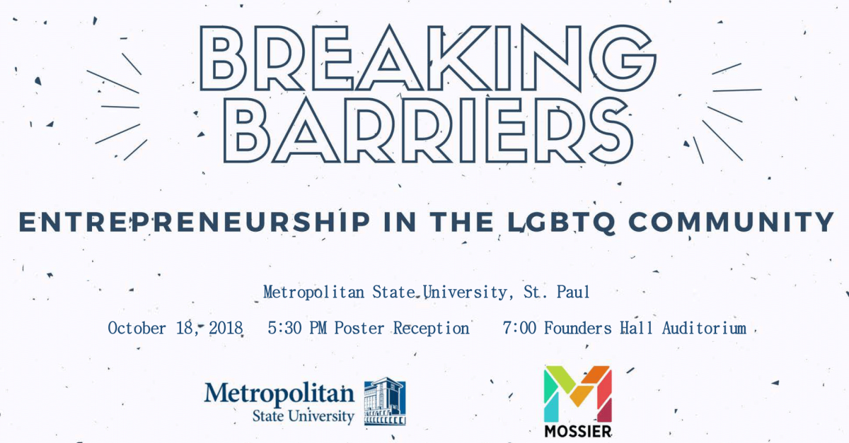 Details of Breaking Barriers event