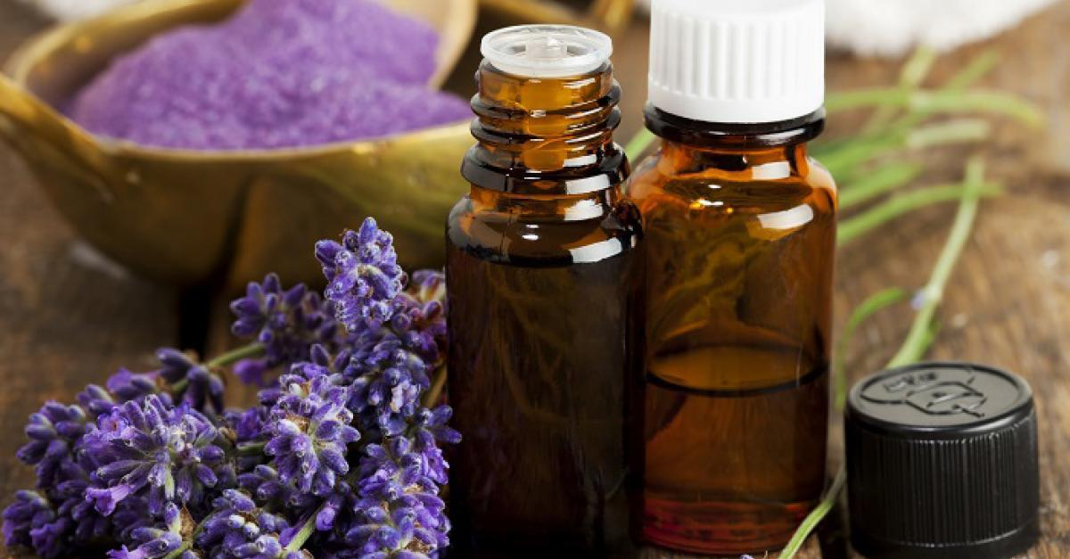 Photo of lavender and essential oils