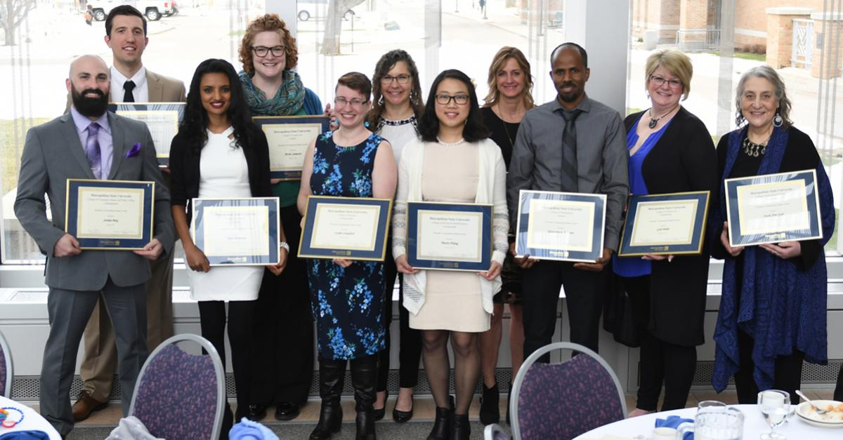 Spring 2019 Outstanding Students