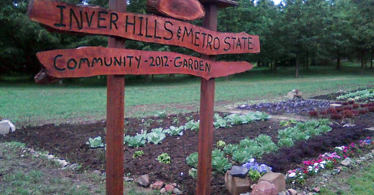 Community garden plots available at Inver Grove Community College