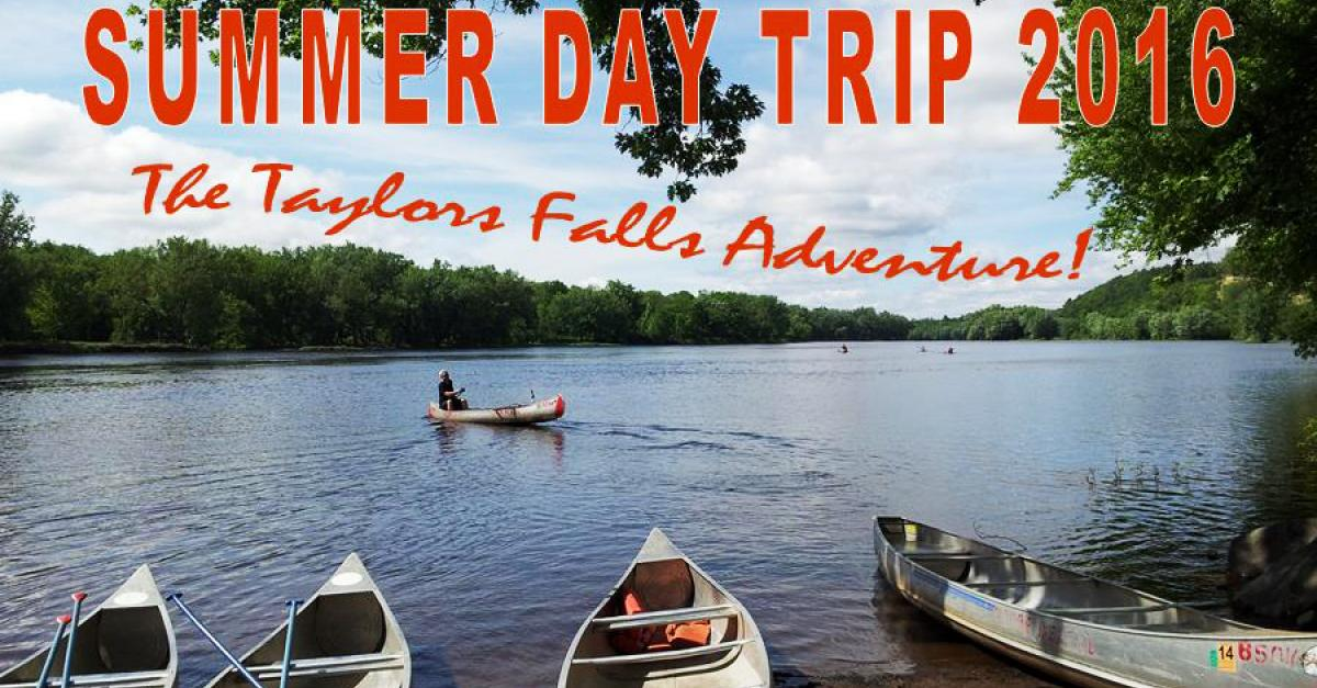 June 18: Take a day trip to Taylors Falls with UAB
