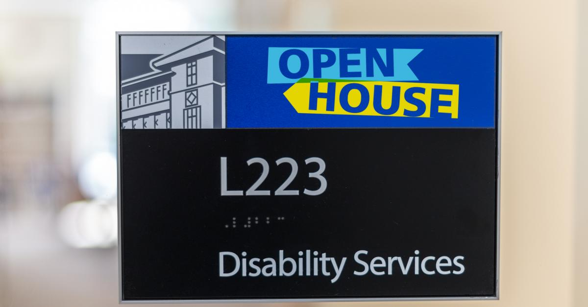 July 7: Disability Services open house