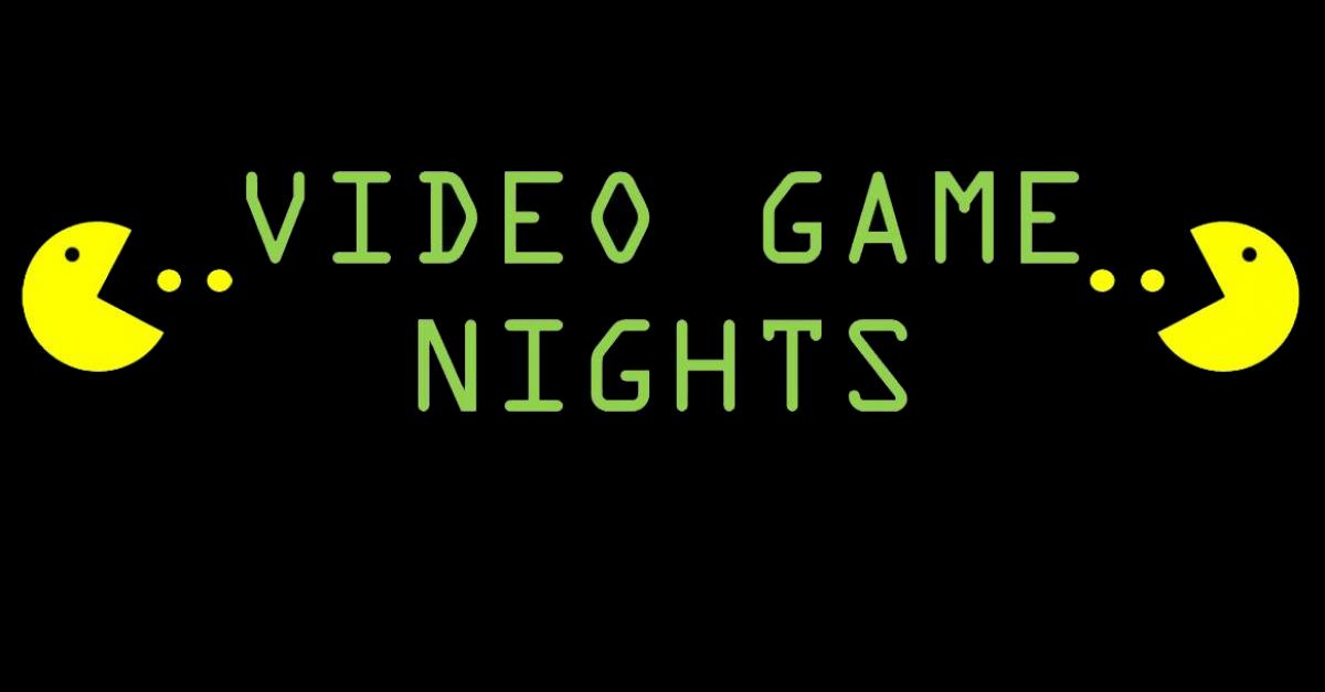 July 19: Video Game Night at the Library
