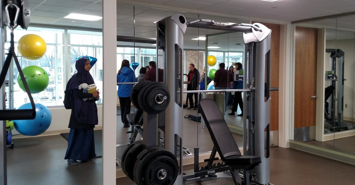 Student Center Fitness Room opens