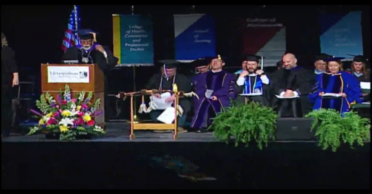 Watch video of Spring 2016 Commencement