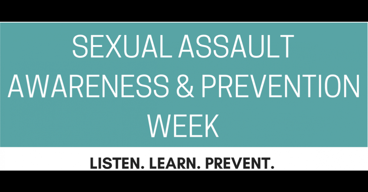 April 2-5: Sexual Assault Awareness and Prevention Week