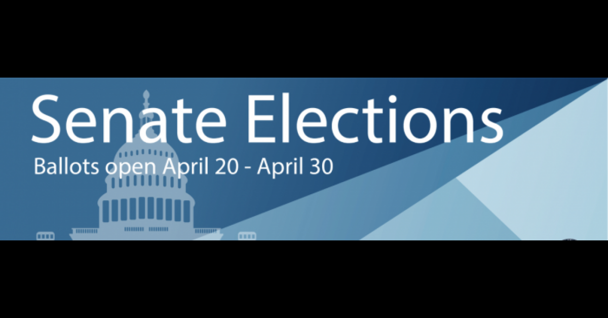 April 13: Deadline to nominate for Student Senate positions