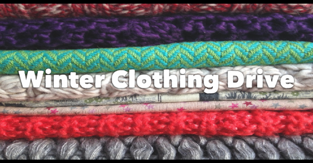 April 7: Bundle up at winter clothing drive
