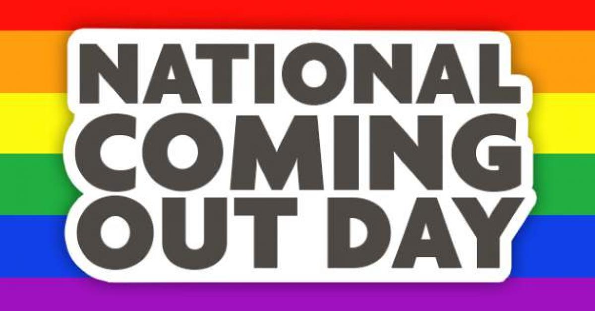National Coming Out Day flag